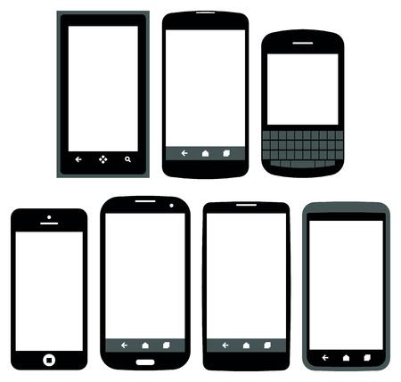 smartphones vector Stock Vector - 20841754