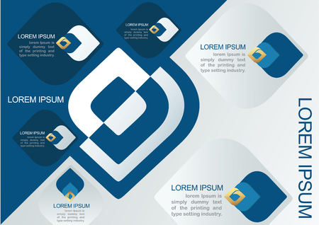 decorative element: Vector element for Infographic Design,Presentation and chart,Abstract background Ep1