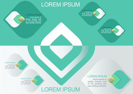 Vector element for Infographic Design,Presentation and chart,Abstract background Ep2 向量圖像