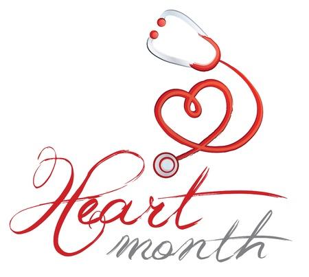 estetoscopio corazon: Estetoscopio, el Mes del Coraz�n en forma de coraz�n