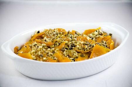 Pumpkin Dessert with Walnuts photo
