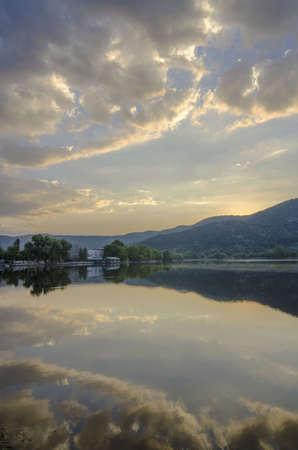 reflect: lake reflect Stock Photo