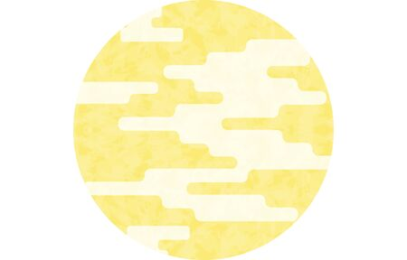 Round frame material with haze pattern Ilustracja