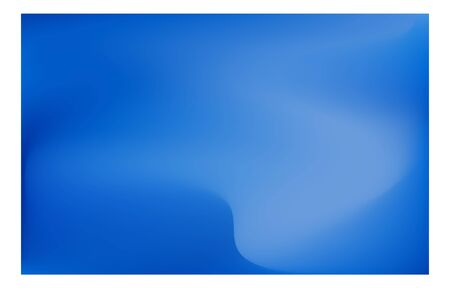 Blue blurred gradient background material