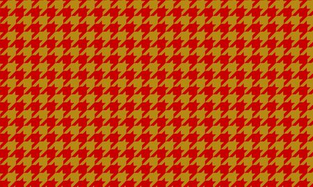 Japanese pattern houndstooth check