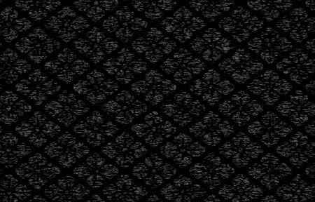 Japanese pattern with a white wilt pattern on a black background: Hanabishi 矢量图像