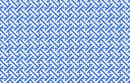 Japanese pattern with white shading on a transparent background blue: saaya 矢量图像