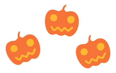 Illustration of Jack O'Lantern for Halloween