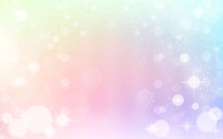 Glittering background illustration with snowflakes Stock fotó