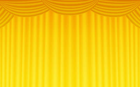 Background material for stage curtains  イラスト・ベクター素材