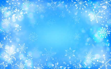 Snowflake background material Christmas image Foto de archivo