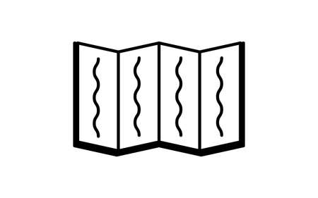 Black and white funeral icon, sutra book