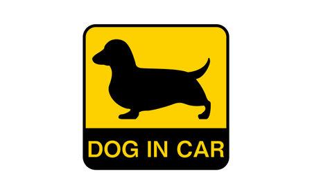 Warning sticker for safe driving