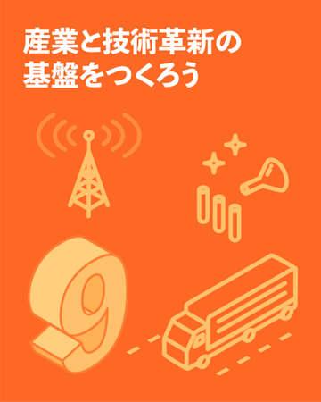 SDGs Goal 9, Industry, innovation, infrastructure - Translation: Industry, innovation, infrastructure