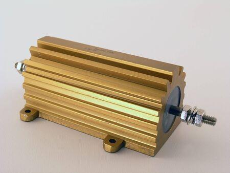 watt: a 250 watt power resistor used in electronic circuits