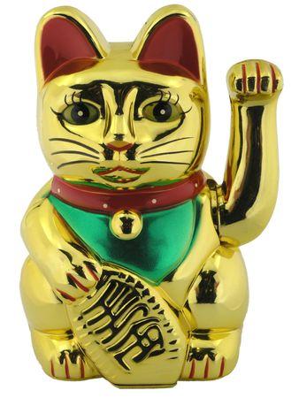 Asian oriental lucky cat figure photo