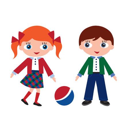 recess: children in school at recess