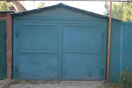 garage doors: GARAGE DOORS Stock Photo