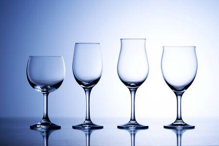 Wine glasses Stockfoto