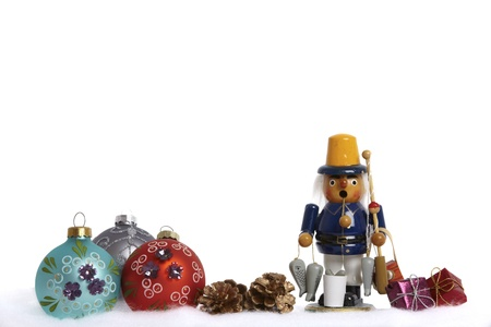 Christmas decoration with (German incense) smoker Stock Photo - 12206221
