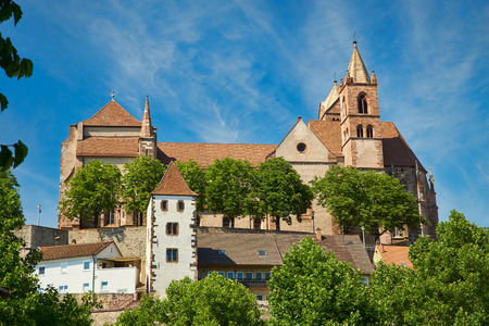 saint stephen cathedral: The late Romanesque Stephans Cathedral in Breisach on the Upper Rhine in Baden-Württemberg