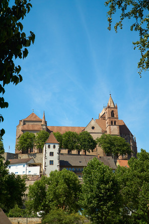 saint stephen cathedral: Views of the Stephans Cathedral in Breisach on the Upper Rhine in Baden-Württemberg