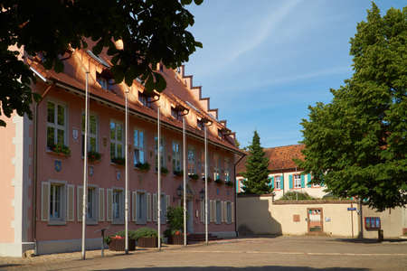 minster: The Town Hall of Breisach on the Minster Square