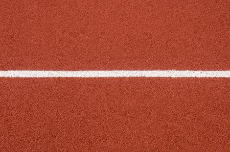 De renbaan rubberstroken behandelen textuur met lijn voor achtergrond.