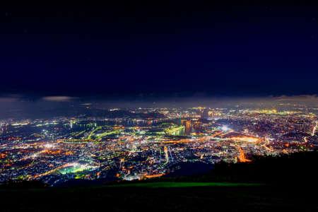 New Japan's Three Great Night Views from the Tatakurayama Observatory (Kitakyushu City)