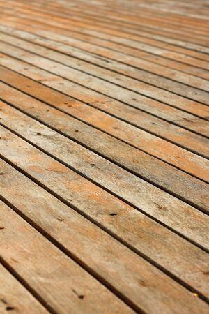 wood floor: old wood floor Stock Photo