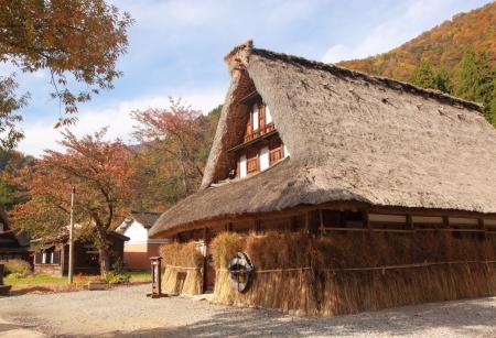 gokayama: Well preserved Japanese traditional house in Gokayama village Toyama