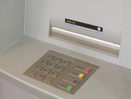 cash machine: Cash machine   Stock Photo
