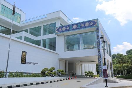쿠알라 룸푸르 말레이시아 - 2014년 5월 24일 인기있는 관광 명소, 이슬람 예술 박물관 말레이시아 쿠알라 룸푸르에서 말레이시아