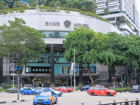 Singapore, Singapore - 26 May, 2014  Popular Shaw Centre shopping complex in Orchard road Singapore   報道画像