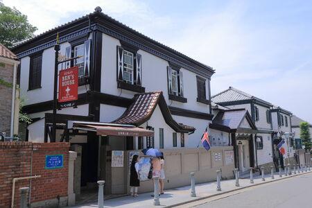 bens: Kobe Japan - 2 June 2014  Historical architecture of Ben�s House in Kitano distric in Kobe Japan