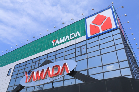 Kanazawa Japan - 6 June, 2014 YAMADA Denk, one of the biggest consumer electronics retailer chain in Japan