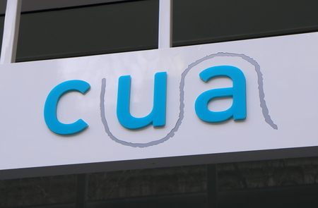 credit union: Melbourne Australia - August 23, 2014: CUA Credit Union Australia  Editorial