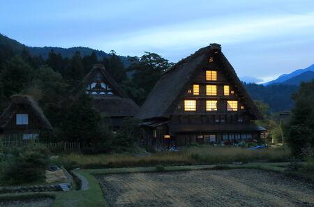 shirakawago: Japanese traditional house Shirakawa