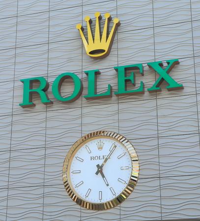 Melbourne Australia - January 23, 2015: Rolex watch manufacturer. Editoriali