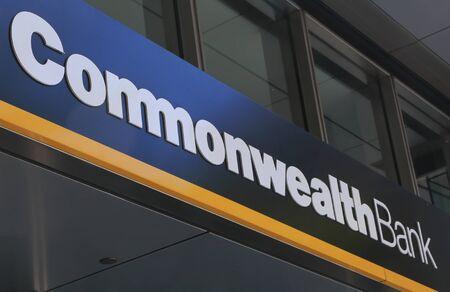international banking: Melbourne Australia - March 1, 2015: Commonwealth Bank of Australia. Editorial