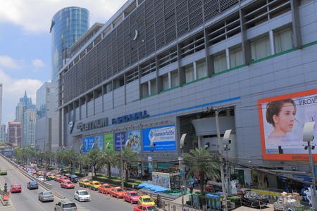Bangkok Thailand  April 19 2015: Famous Platinum shopping mall in Bangkok.