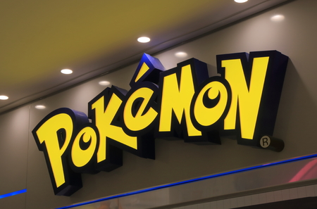 Tokyo Japan - May 9, 2015: Pokemon Japanese animation. Editorial