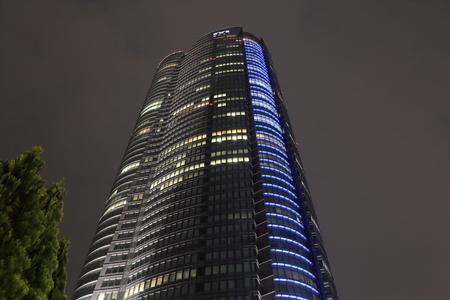 mori: Tokyo Japan - May 9, 2015: Iconic Mori building in Roppongi hills. Editorial