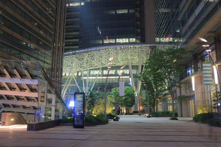 Tokyo Japan - May 9, 2015: Modern Roppongi Midtown shopping complex.