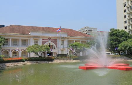 cruz roja: Bangkok, Tailandia - 22 de abril de 2015: edificio de la Cruz Roja de Bangkok.
