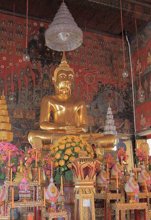 bouddhisme: Temple Wat Saket bouddhisme � Bangkok.