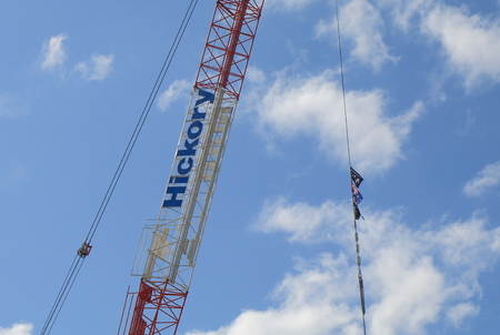 construction companies: Melbourne Australia - August 22, 2015: Hickory group. One of the biggest construction companies in Australia. Editorial