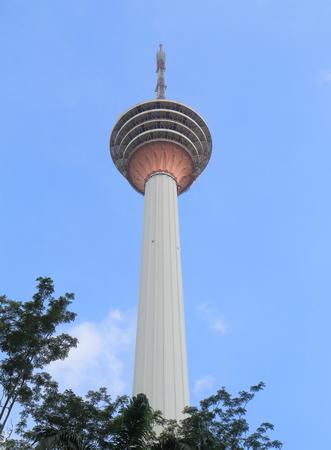 kl: KL Tower Kuala Lumpur Stock Photo