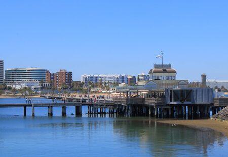 st kilda: Melbourne Australia - December 29, 2015: St Kilda pier in Melbourne. Editorial
