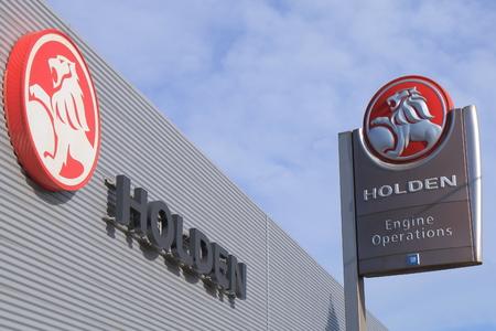 operates: Melbourne Australia - March 2, 2016: Holden Car manufacture plant. Australian automaker operates. Editorial